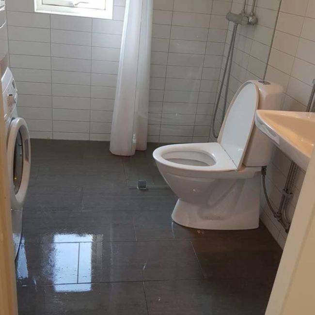 Ren toalett efter utförd hemstädning Malmö