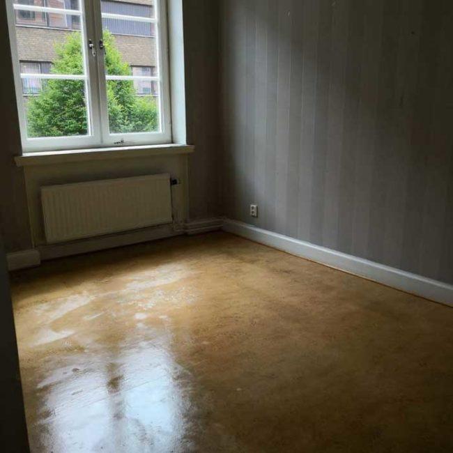 Rum efter storstädning Malmö
