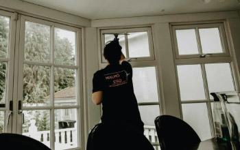 Fönsterputsning i Malmö